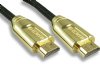 Short 4k  0.5m HDMI Cable with Gold Plated, Braided Sleeve